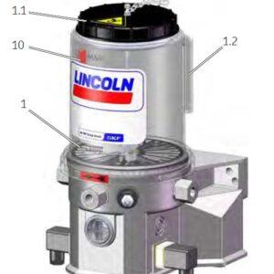 Teile P203 Pumpe